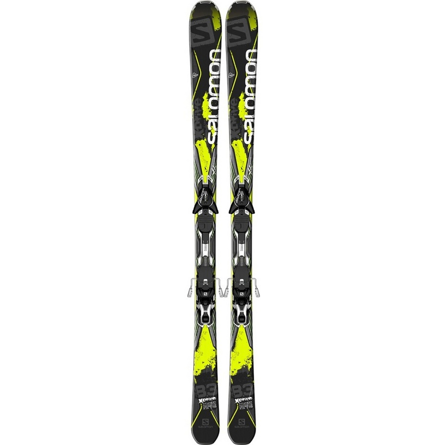 Salomon X-Drive 8.3 Downhill Skis With XT12 Bindings