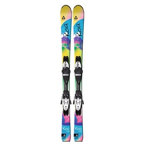 Girl`s Koa Jr Rail Skis + FJ7 AC Jr Rail Bindings