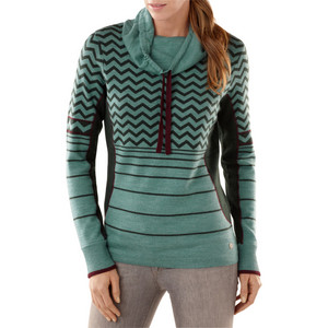 Women`s Optic Frills Double Knit Pullover Sweater