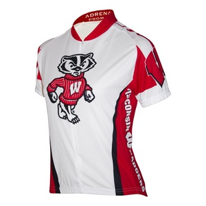 Women's Wisconsin Badgers Cycling Jersey