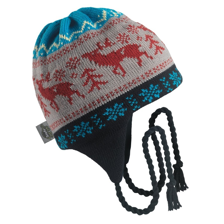 Turtle Fur Men's Moose Crossing Peruvian Hat