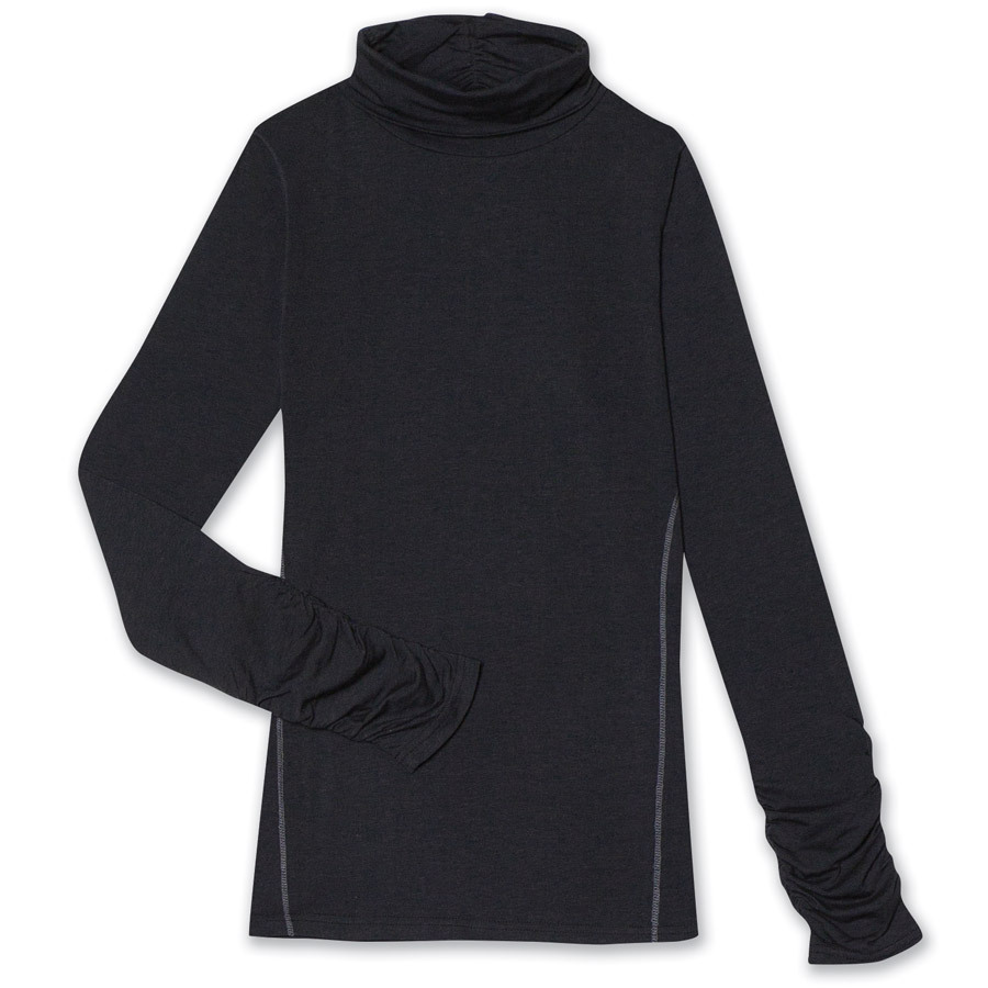 Aventura Womens Glenora Turtleneck Top