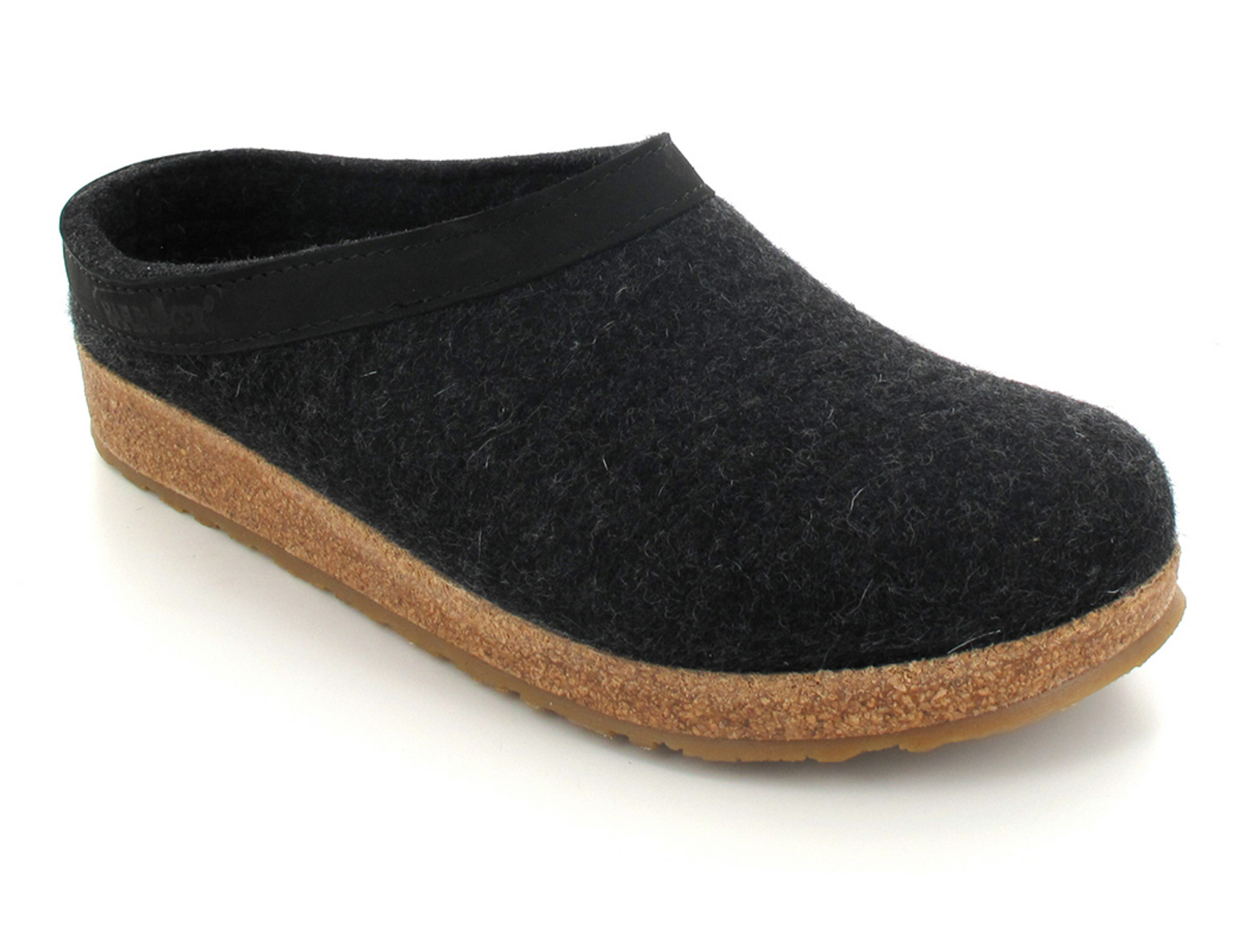 Haflinger Wool Felt Grizzly GZL Clogs