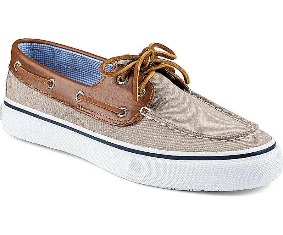Sperry Top Sider Men's Bahama Chambray 2-Eye Boat Shoes