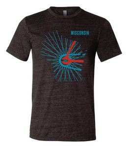 Men's Wisconsin Spokes T-Shirt