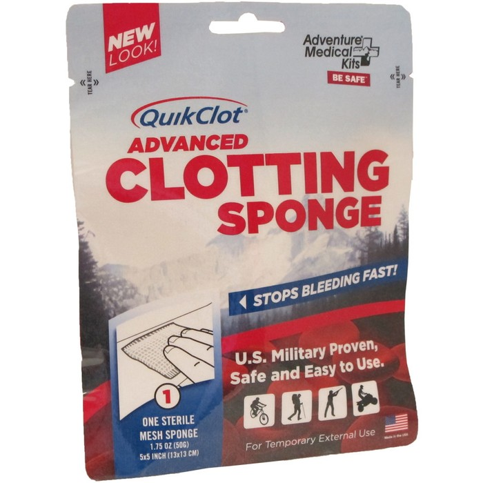 Adventure Medical QuikClot Advanced Clotting Sponge - 25g