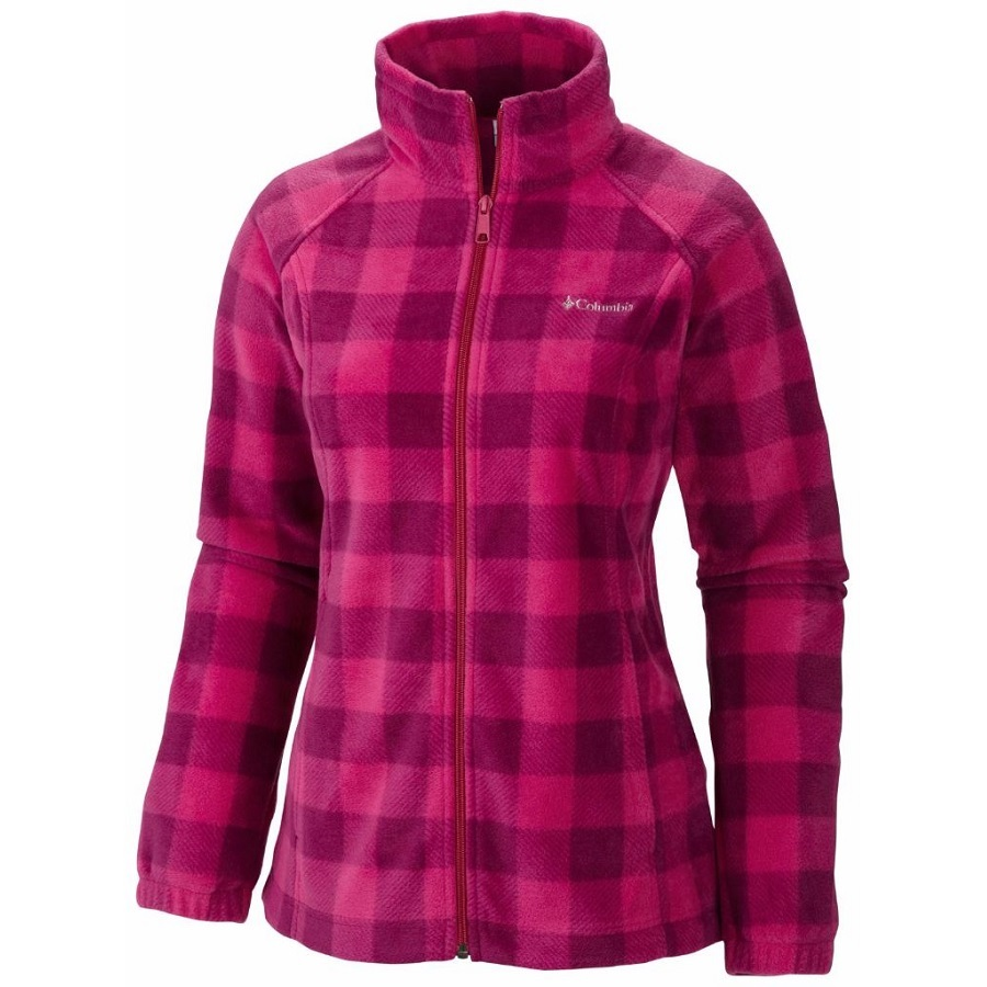 Columbia Women's Benton Springs Printed Full Zip Fleece Jacket
