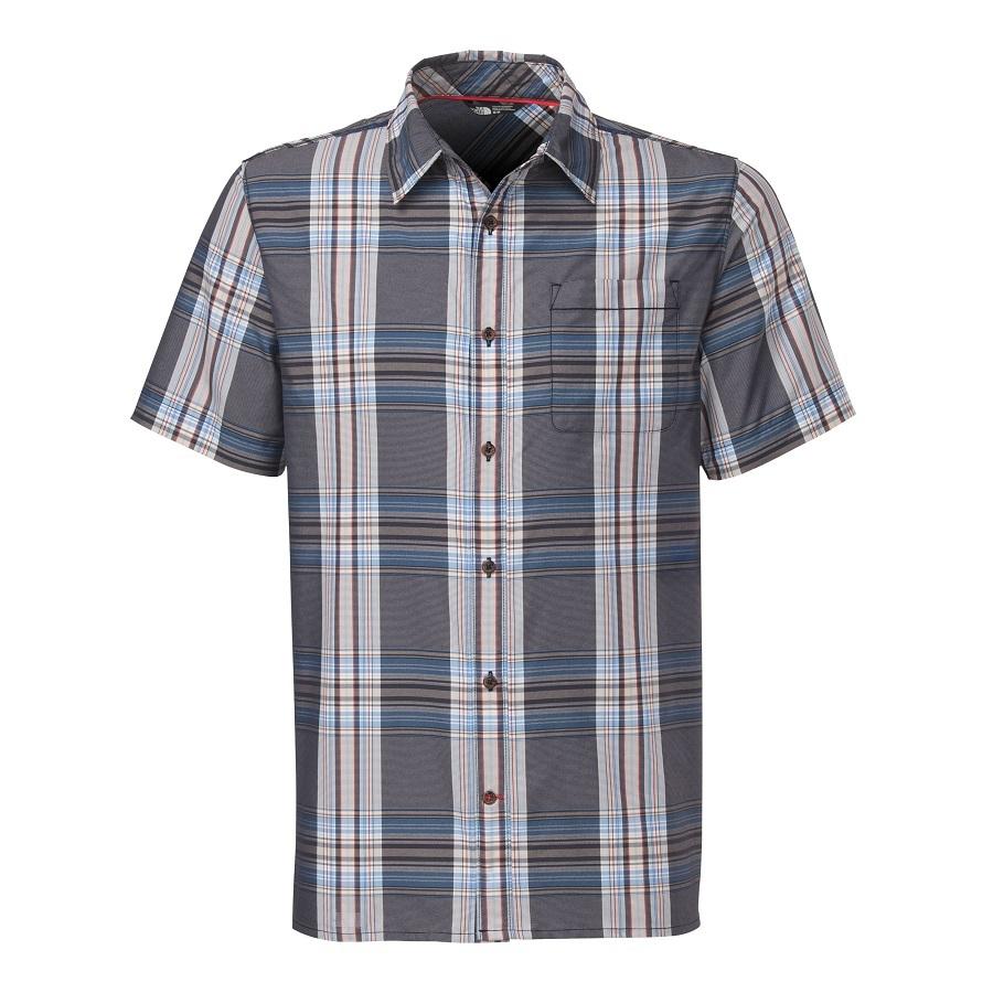 The north face men 39 s pacific coast short sleeve shirt for The north face short sleeve shirt