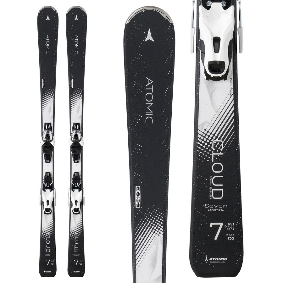 Atomic Womens Cloud Seven Skis w Lithium 10 Bindings