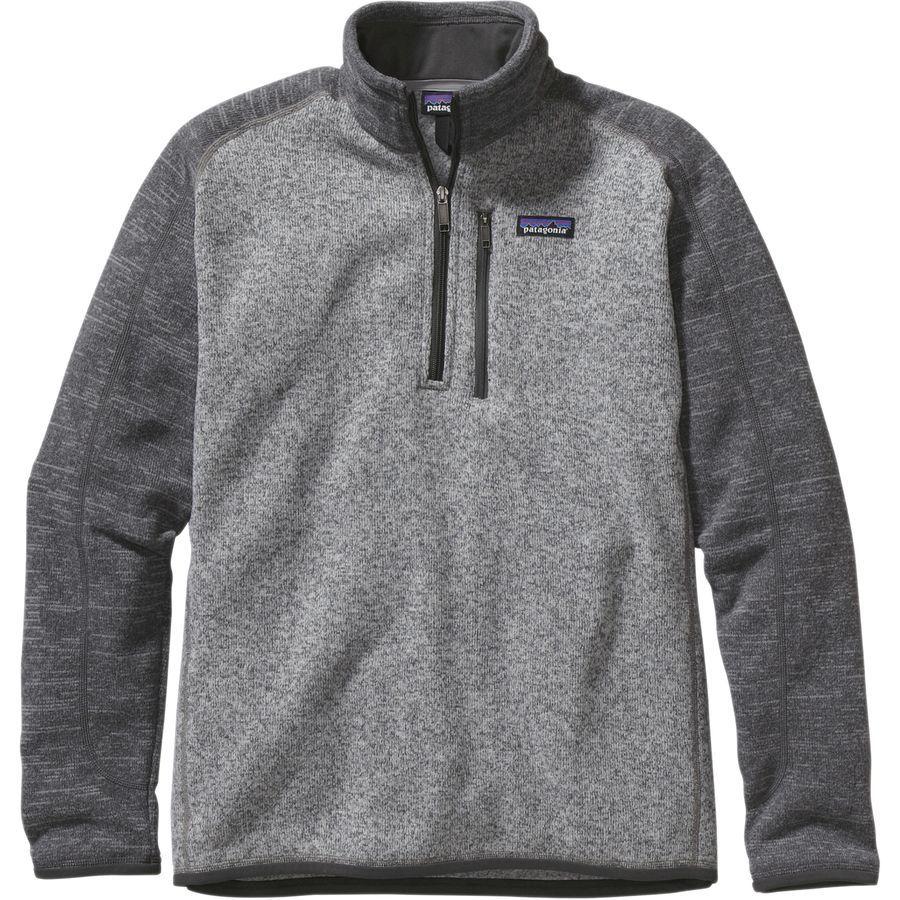 4631d52f56f90 Men s Better Sweater 1 4 Zip Fleece Jacket