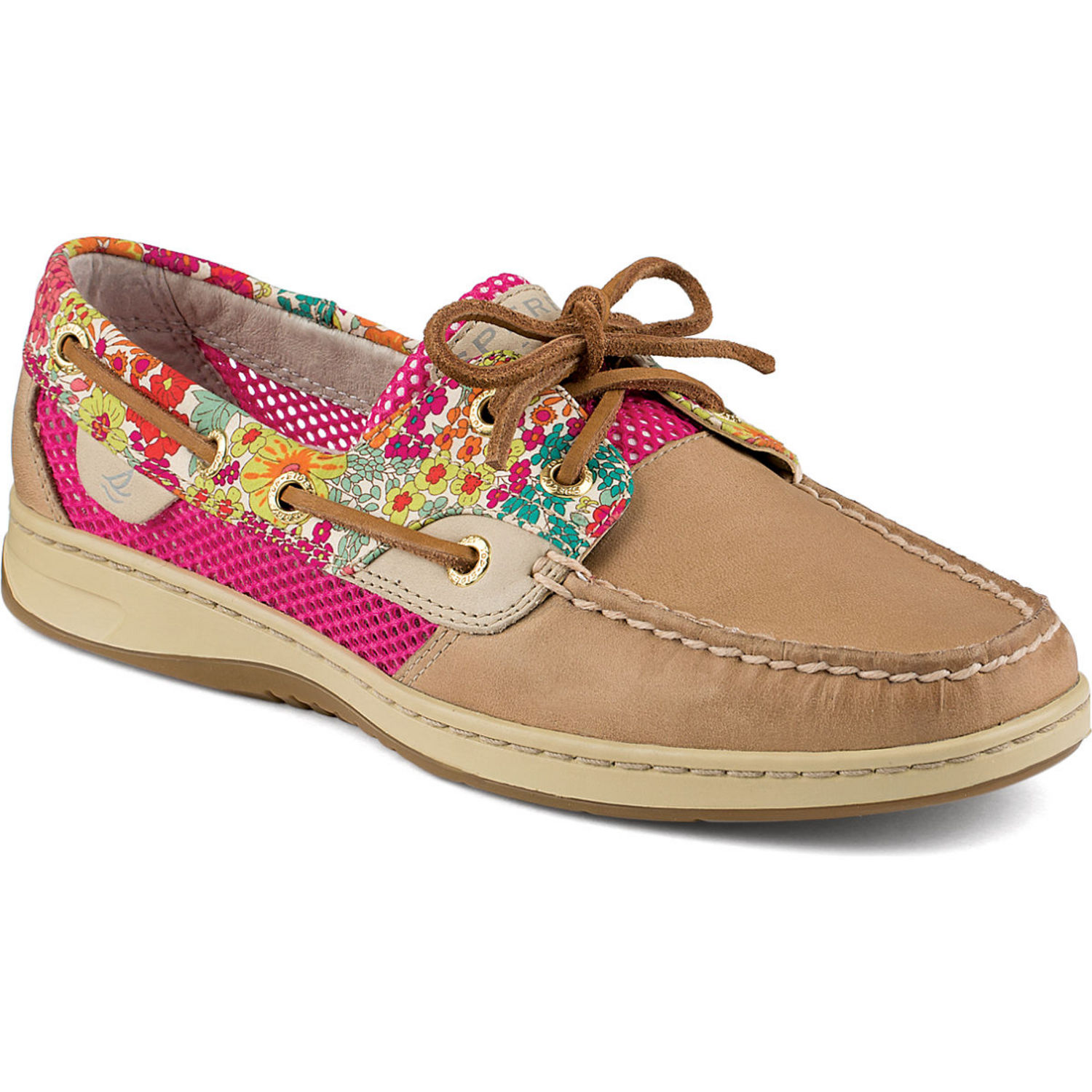Sperry Top Sider Women s Bluefish Liberty Floral Print 2 Eye Boat Shoes