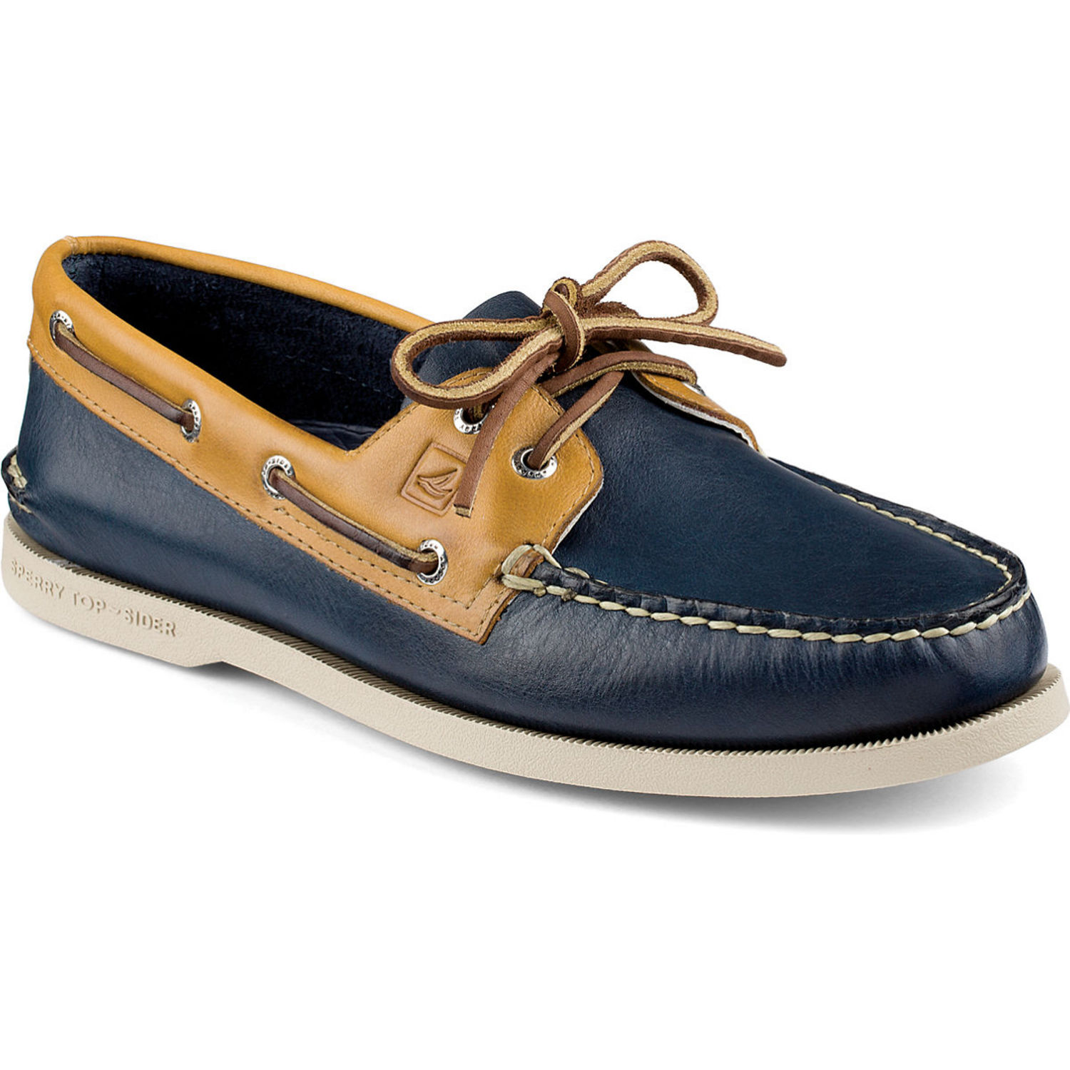 a64e4fe22c1 Sperry Top-Sider Men s Authentic Original Two-Tone 2-Eye Boat Shoes