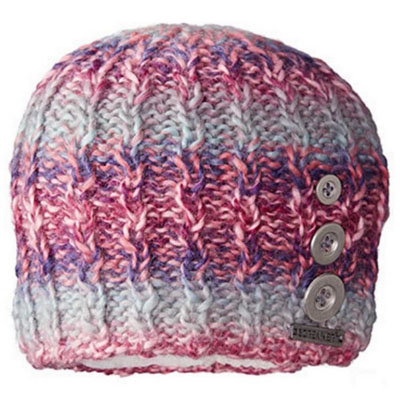 Women's Tapestry Buttons Beanie