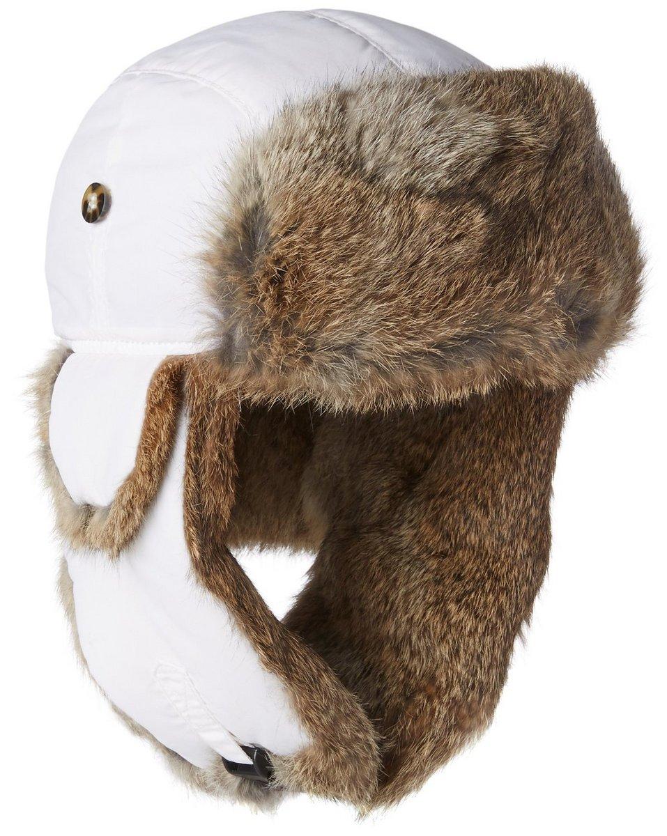 4c8ffeccae155 Mad Bomber Supplex Bomber Hat with Brown Rabbit Fur