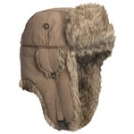 Mad Bomber Supplex Bomber Hat with Brown Rabbit Fur
