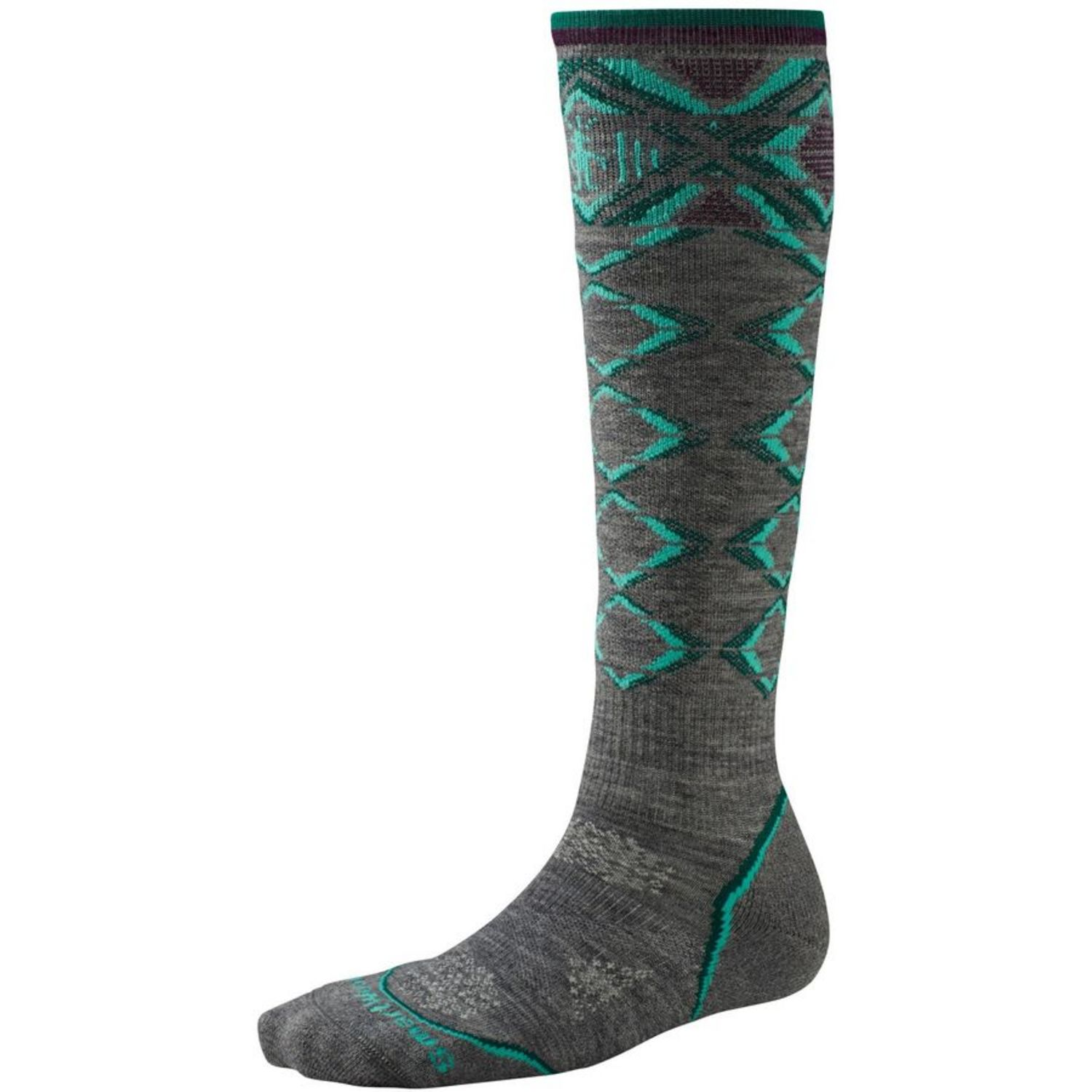Smartwool Womens Phd Ski Light Pattern Socks