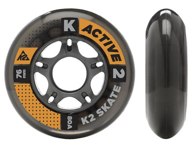 76MM Wheels 8-Pack with ILQ 5 Spacer