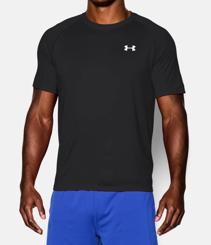 Men 39 s ua tech short sleeve tee fontana sports for Under armour t shirts