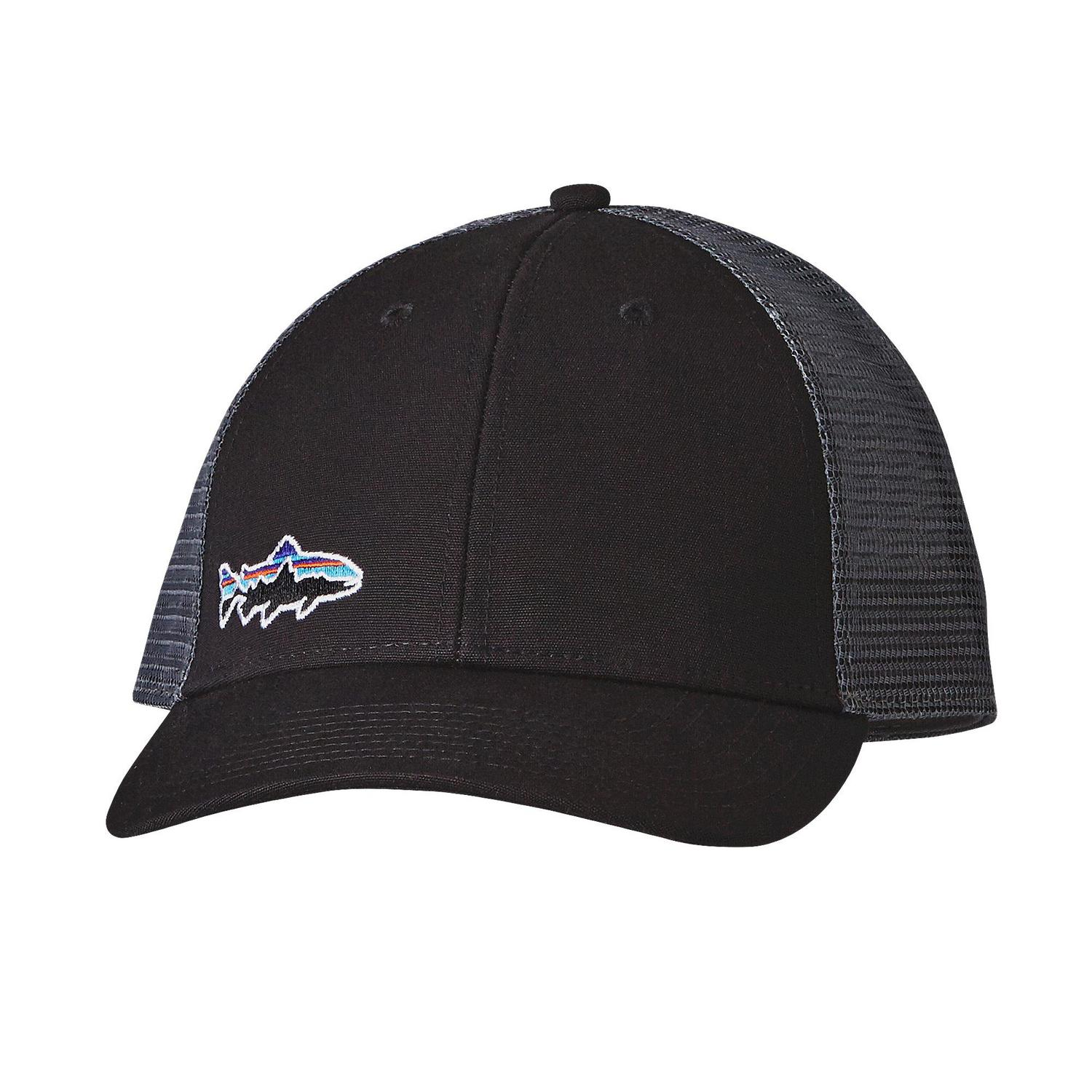 Patagonia small fitz roy trout lopro trucker hat fontana for Patagonia fly fishing hat