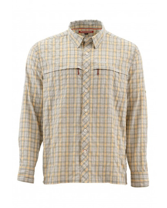 Simms Men's Stone Cold Long Sleeve Shirt