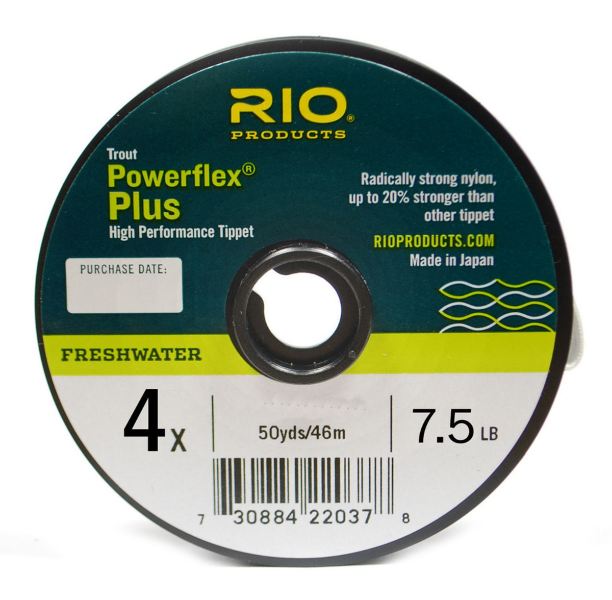 Rio Products Powerflex Plus Tippet 4X