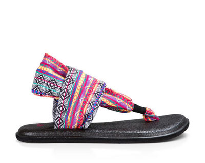 Women`s Yoga Sling 2 Prints Sandals