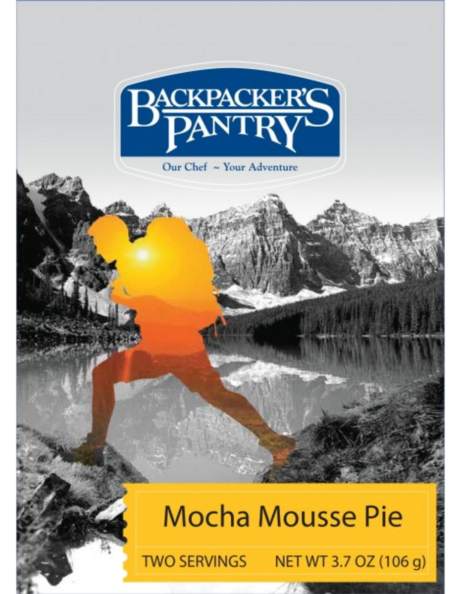 Backpackers Pantry Mocha Mousse Pie 2 Servings