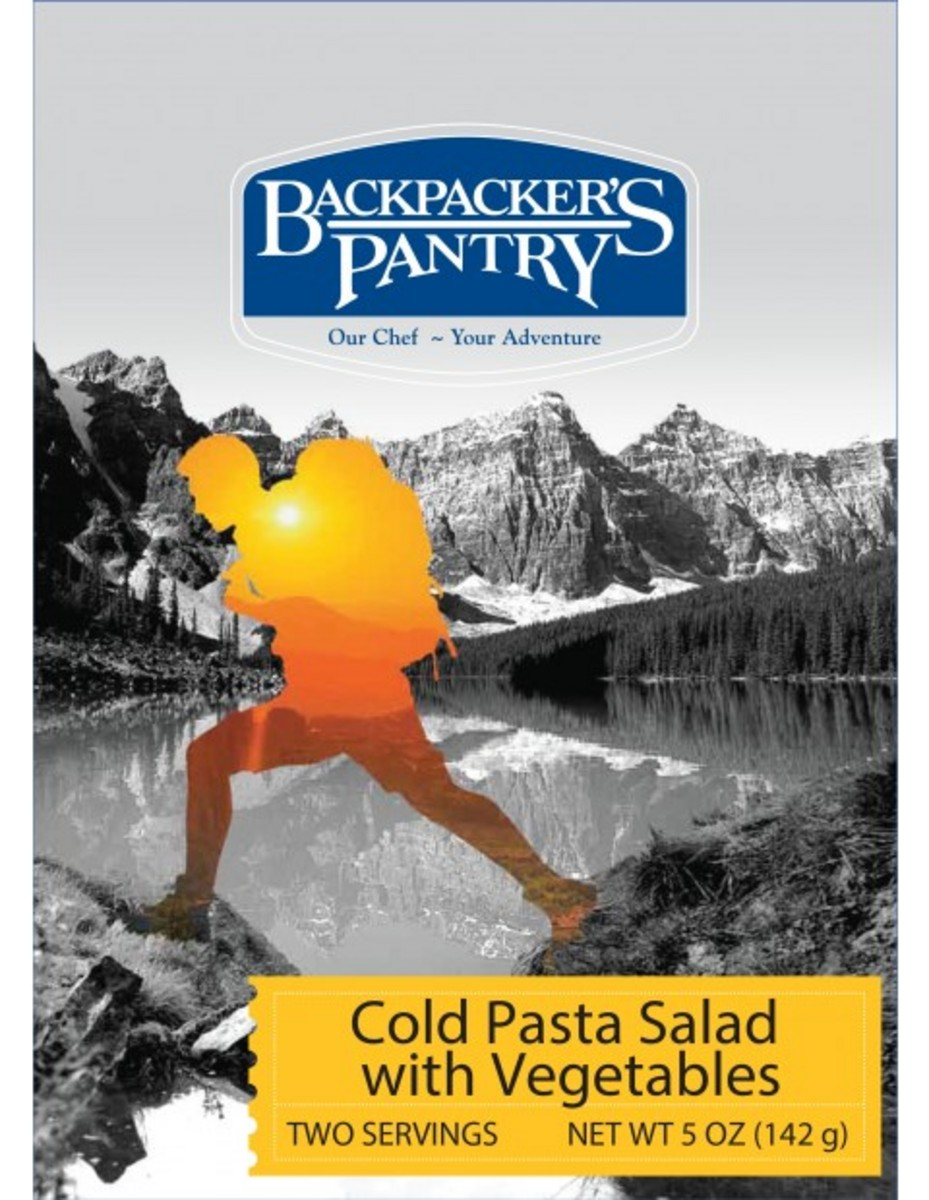 Backpackers Pantry Cold Pasta Salad with Vegetables 2 Servings