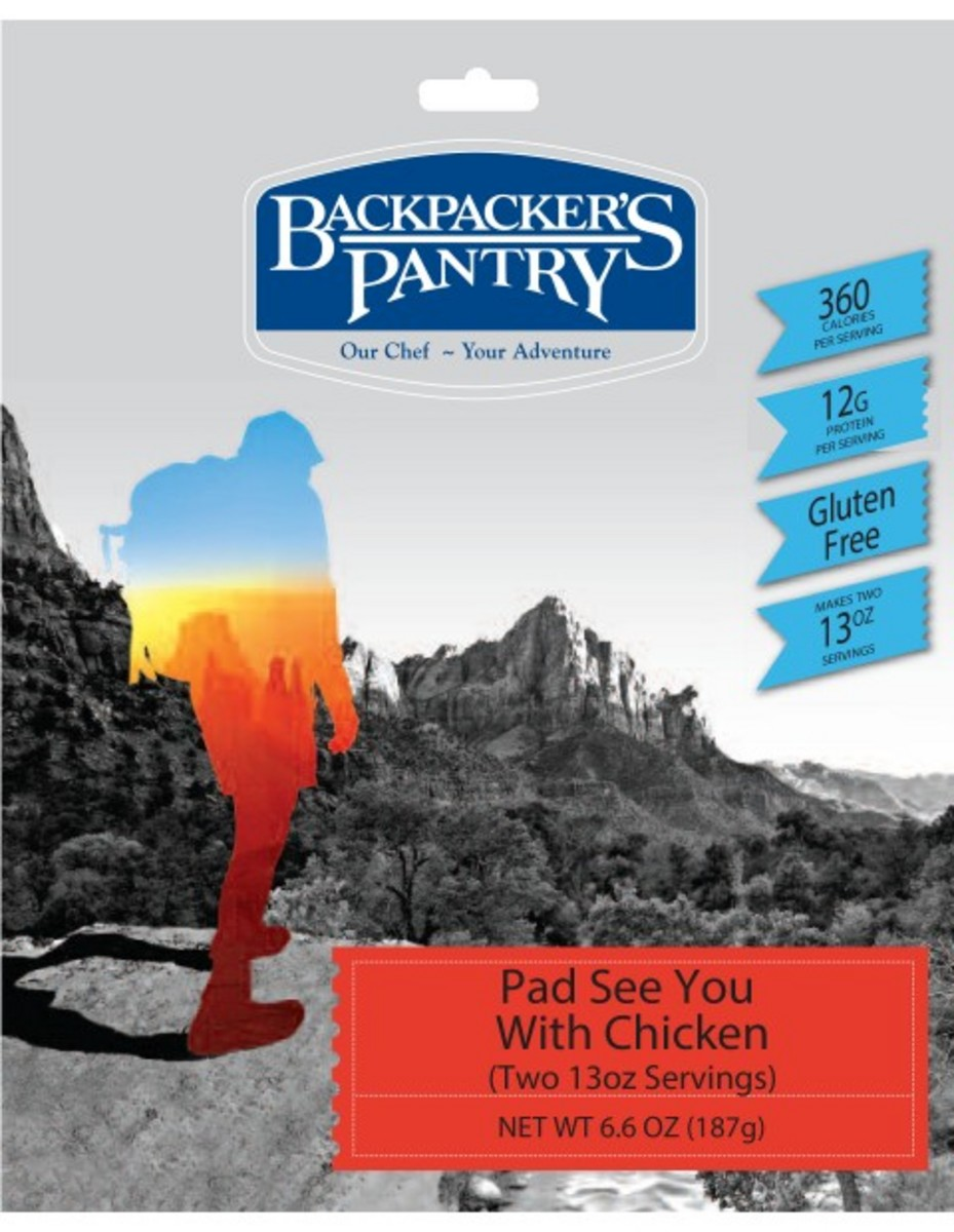Backpackers Pantry Pad See You with Chicken 2 Servings