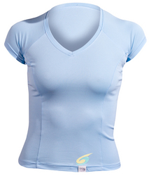 Neosport Women's Short Sleeve Watershirt