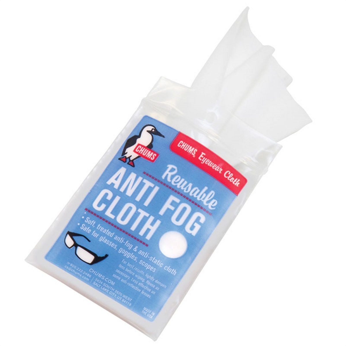Chums Anti Fog Cleaning Cloth