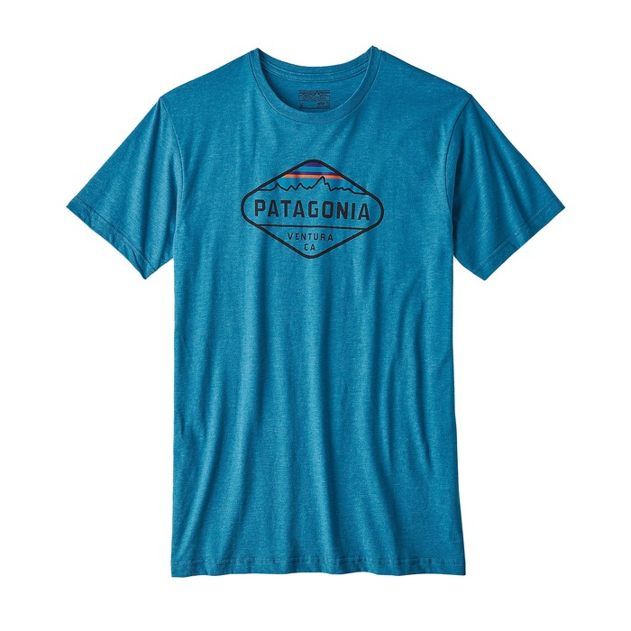 Patagonia Fitz Roy Crest Cotton/Poly T-Shirt