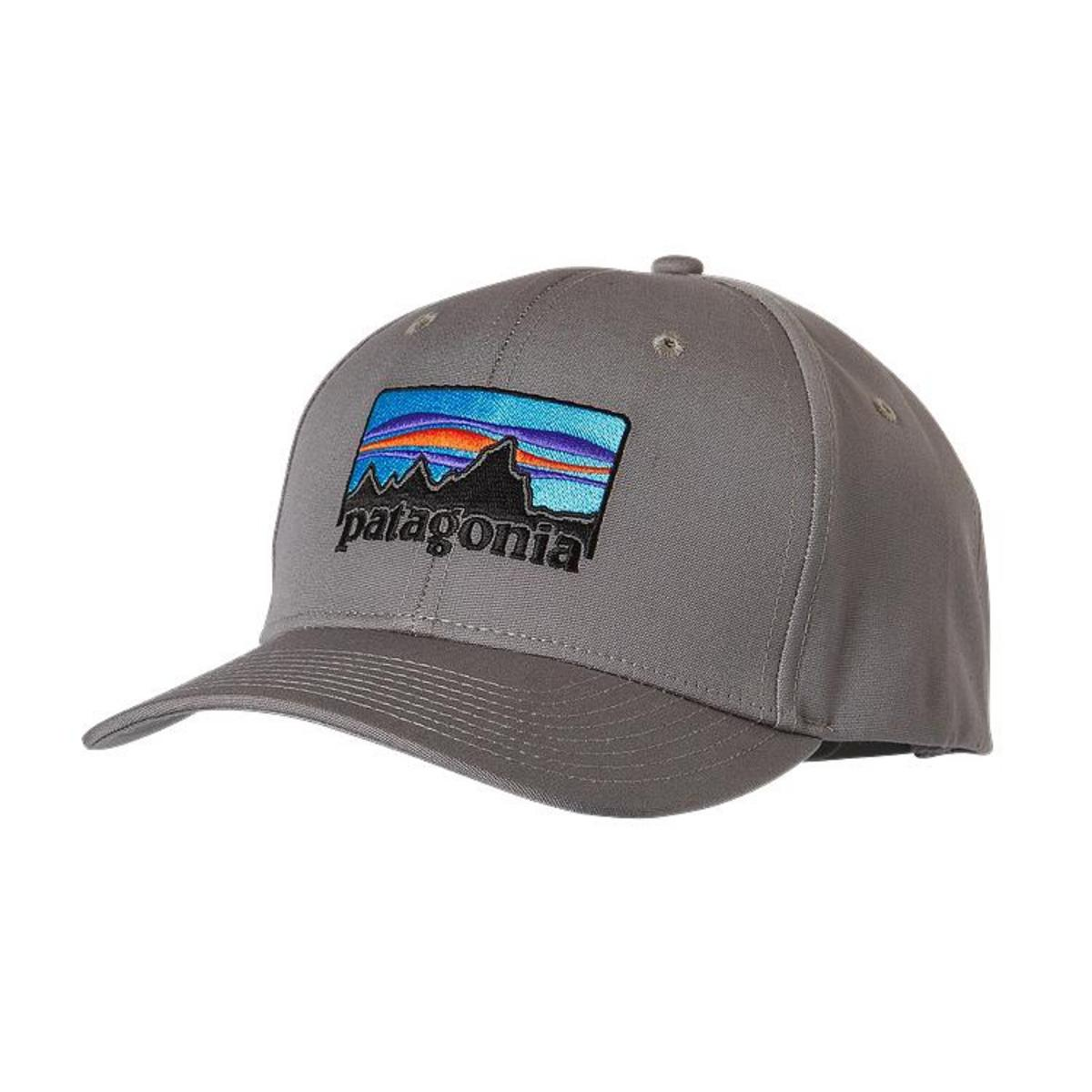 Patagonia 39 73 logo roger that hat fontana sports for Patagonia fish hat