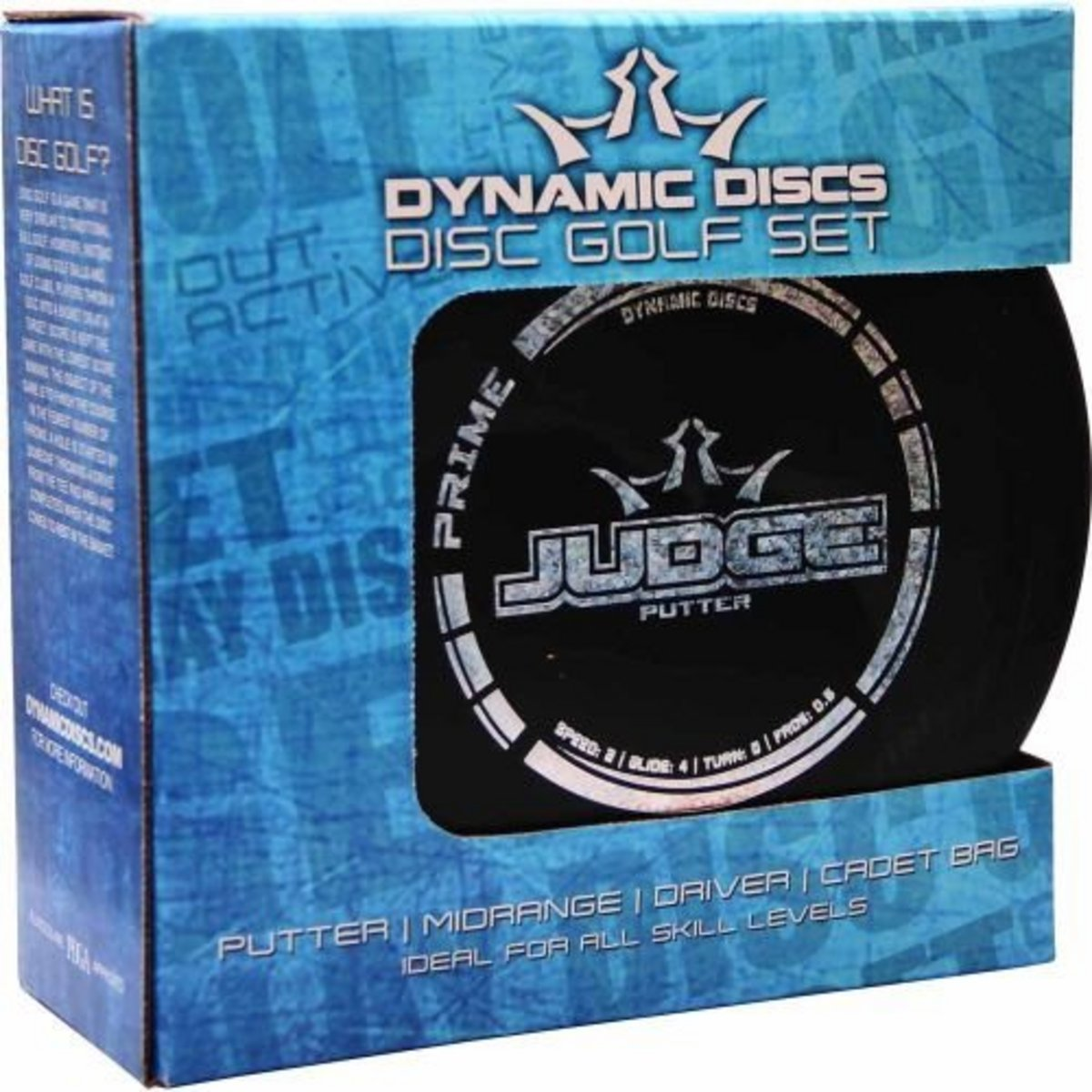 Dynamic Discs Starter Set With Cadet Bag