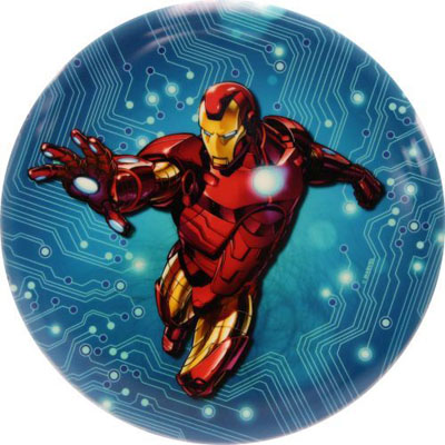 Marvel Blue Circuit Iron Man Felan Dyem