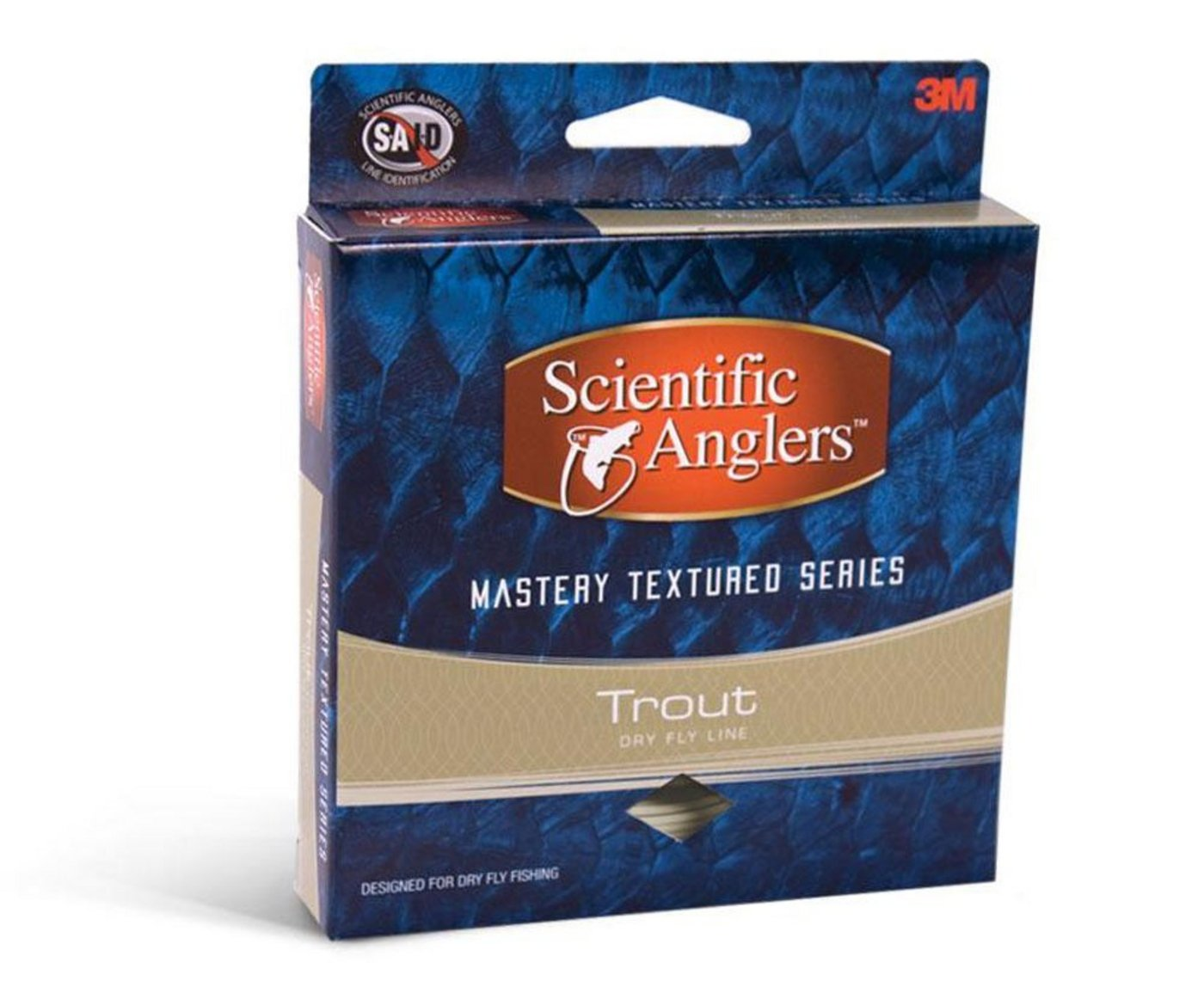 Scientific Anglers Trout Stalker Fly Fishing Line with Loop WF3F