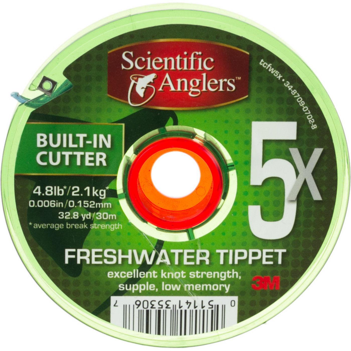 Scientific Anglers Freshwater Tippet 5X