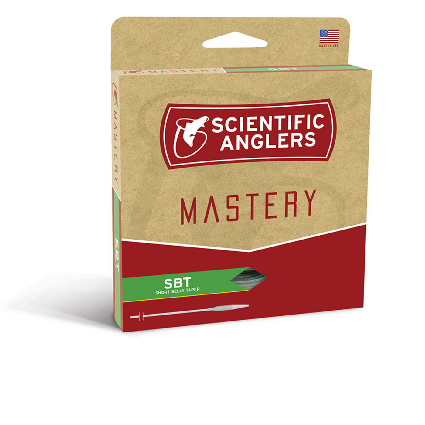 Scientific Anglers Mastery Short Belly Taper Fly Line with Loop WF3F