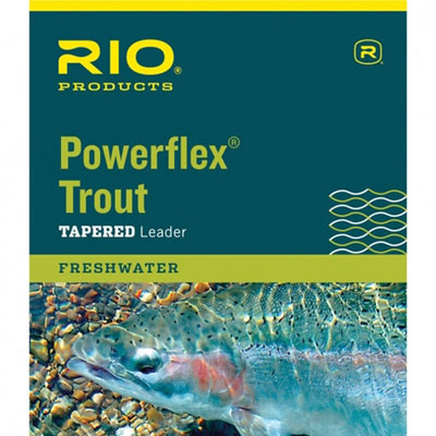 Powerflex Trout Leader - 7.5Ft 3X