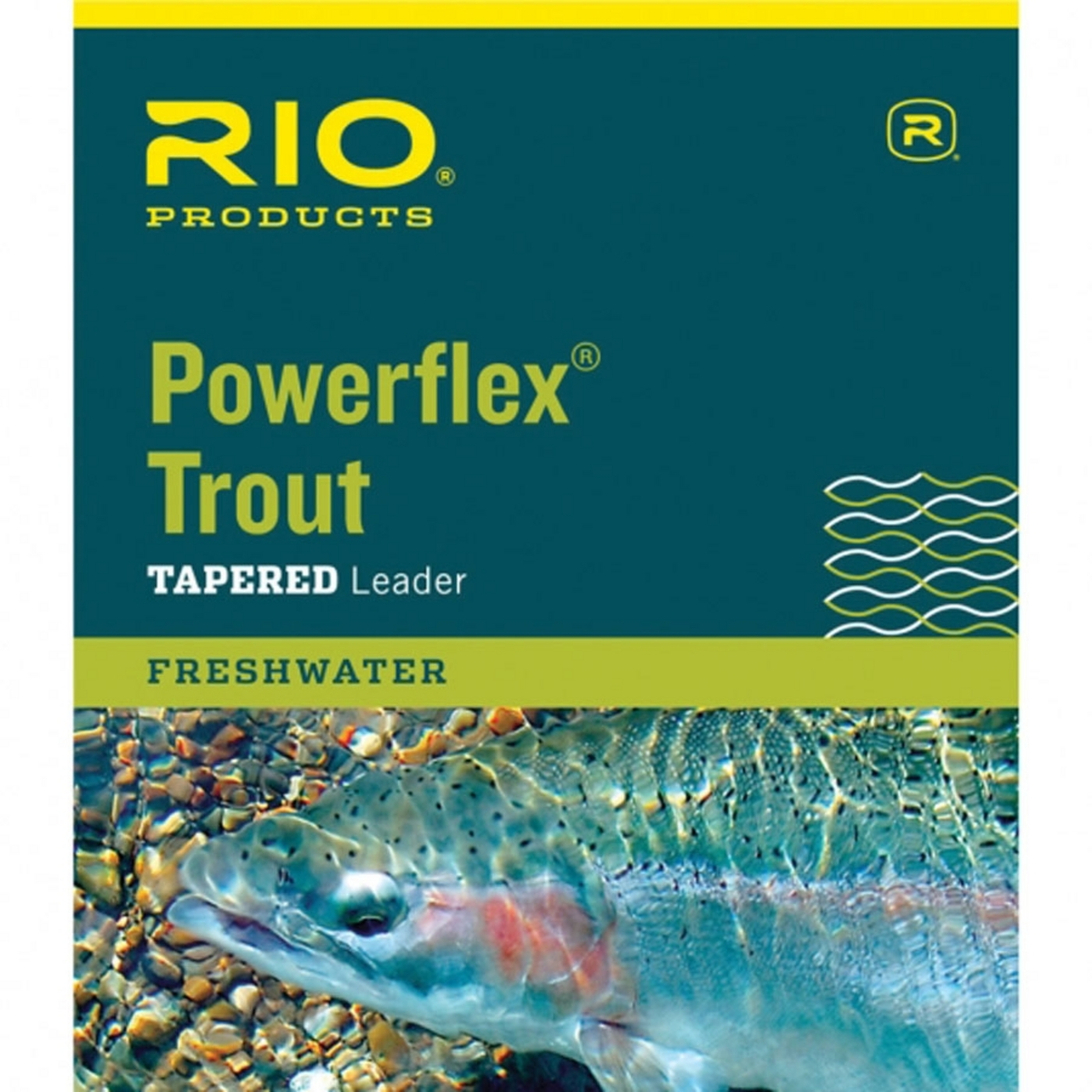 Rio Products Powerflex Trout Leader 7.5Ft 3X
