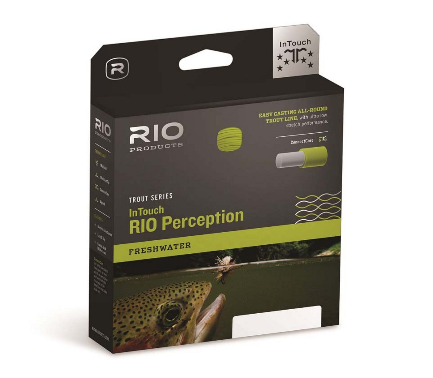 Rio Products InTouch Perception Fly Line WF6F Camo