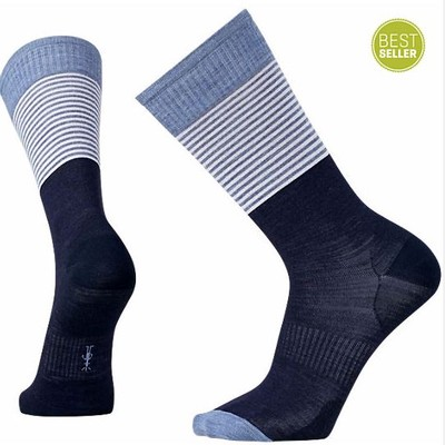 Men's Tailored Stripe Crew Socks