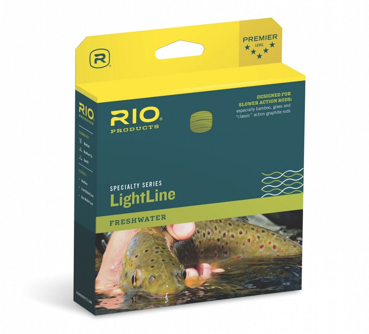 Rio Products LightLine Fly Line WF4F