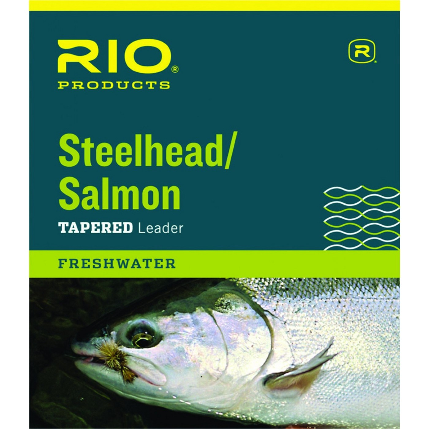 Rio Products Steelhead/Salmon Leader 9ft 12lb