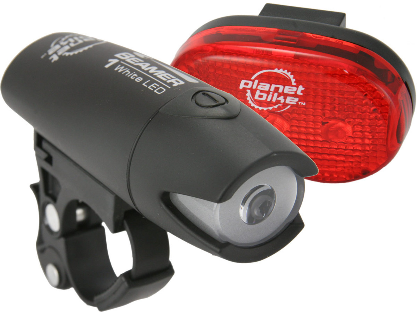 Planet Bike Beamer 1 Bike Light Set