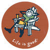 Life Is Good Adirondack Sticker