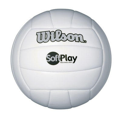 Soft Play Volleyball - White