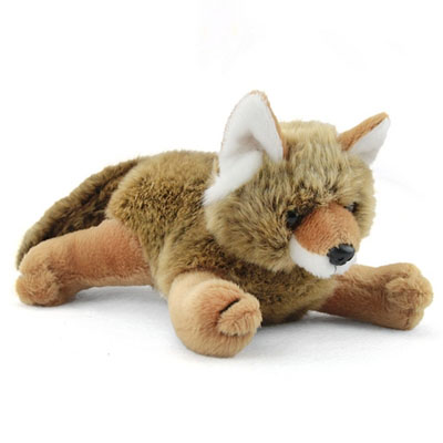 Stuffed Coyote Pup Conservation Critter