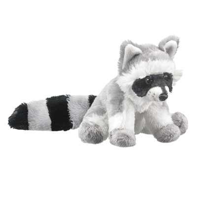Stuffed Raccoon Conservation Critter