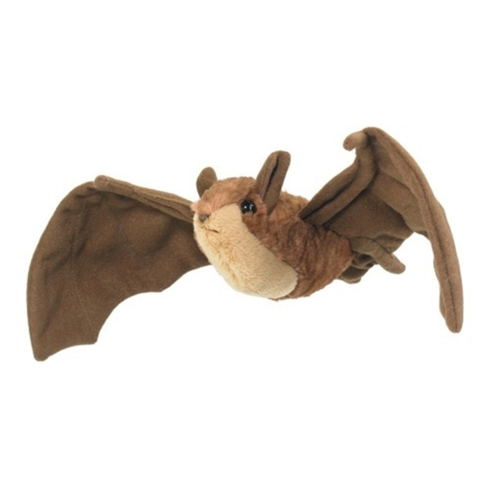Wildlife Artists Stuffed Brown Bat Conservation Critter